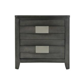 Contour Gray Nightstand
