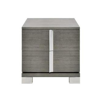 Venezia Gray Nightstand Made in Brazil