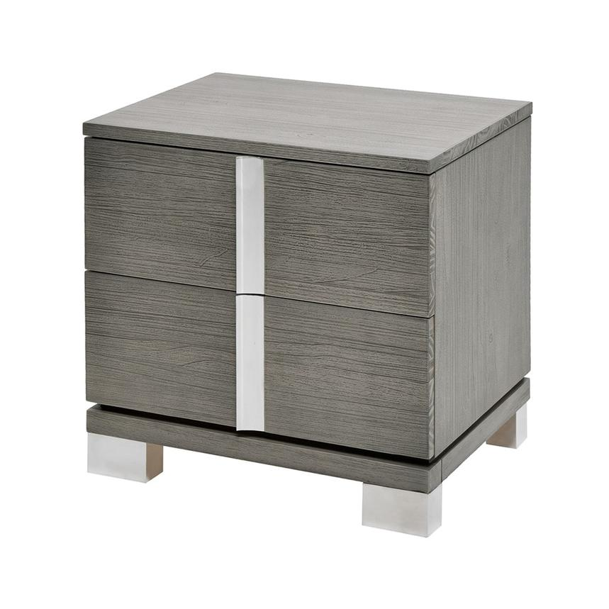Venezia Gray Nightstand Made in Brazil  alternate image, 3 of 8 images.