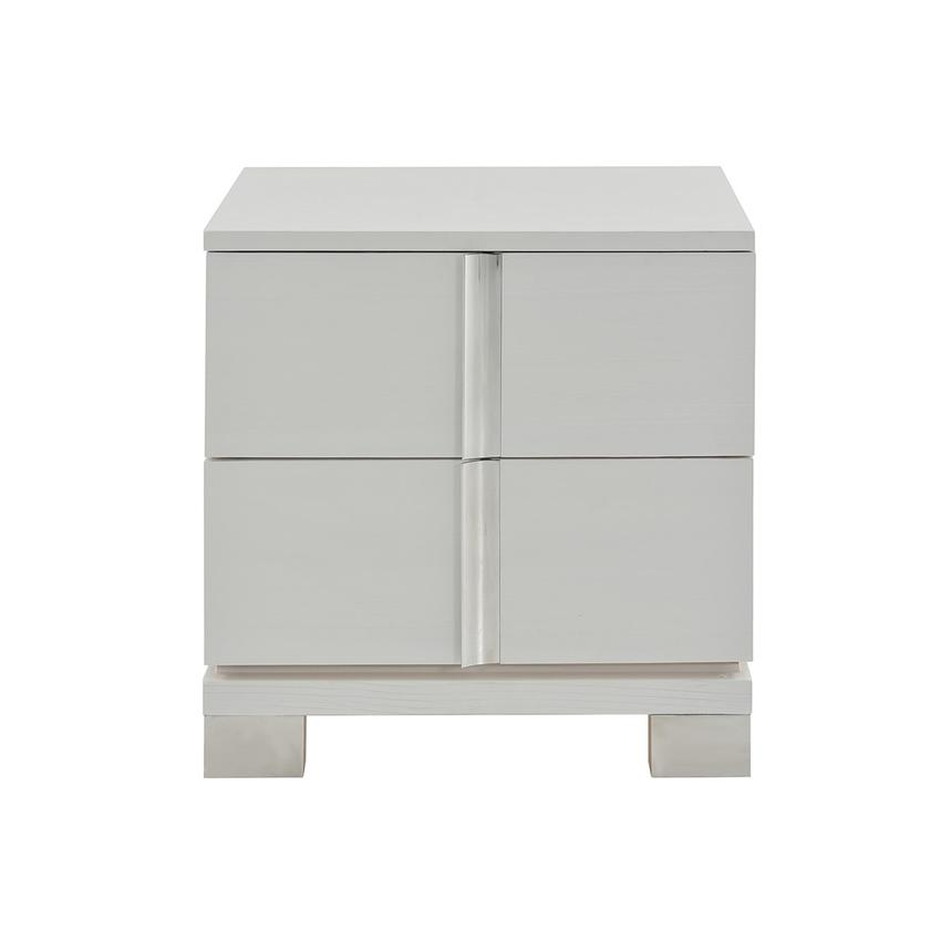Venezia White Nightstand  main image, 1 of 8 images.