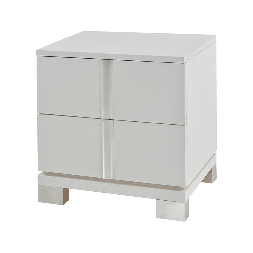 Venezia White Nightstand Made in Brazil  alternate image, 3 of 8 images.