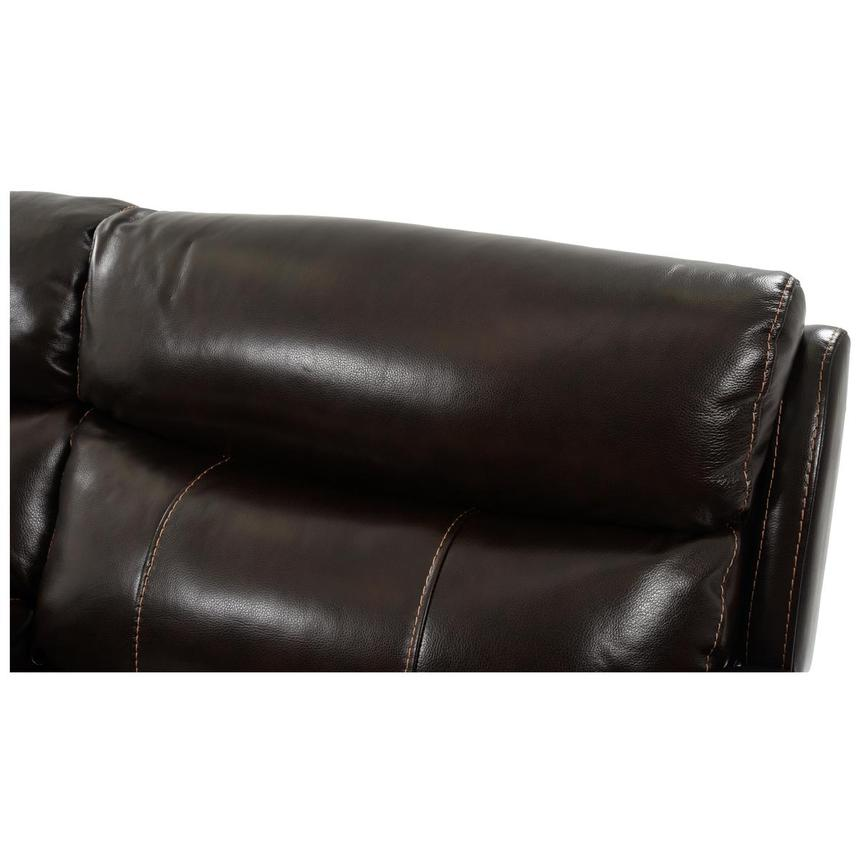 Jeremi Power Motion Leather Sofa w/Console  alternate image, 8 of 10 images.