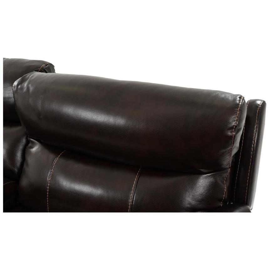Jeremi Power Motion Leather Sofa w/Right & Left Recliners  alternate image, 7 of 8 images.