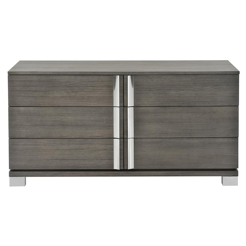 Venezia Gray Small Dresser  alternate image, 4 of 7 images.