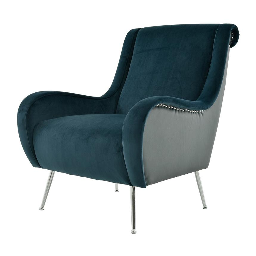 Awe Inspiring Morgan Blue Accent Chair Caraccident5 Cool Chair Designs And Ideas Caraccident5Info