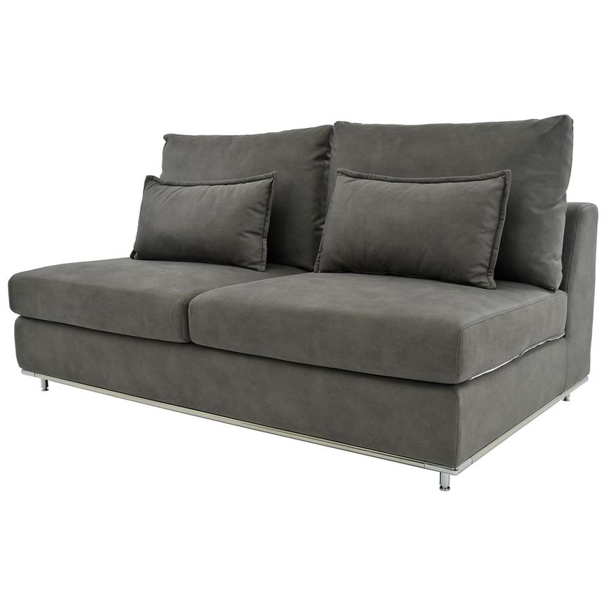 Grigio Armless Loveseat  alternate image, 2 of 5 images.