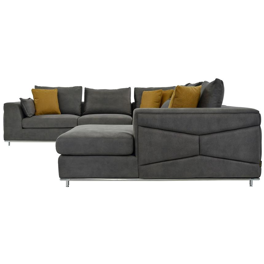 Outstanding Grigio Sectional Sofa W Right Chaise Short Links Chair Design For Home Short Linksinfo
