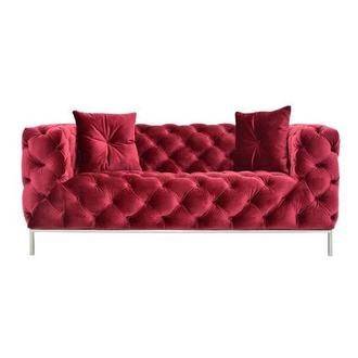 Crandon Red Loveseat