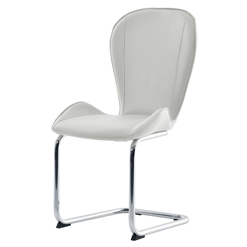 Latika White Side Chair  alternate image, 2 of 7 images.