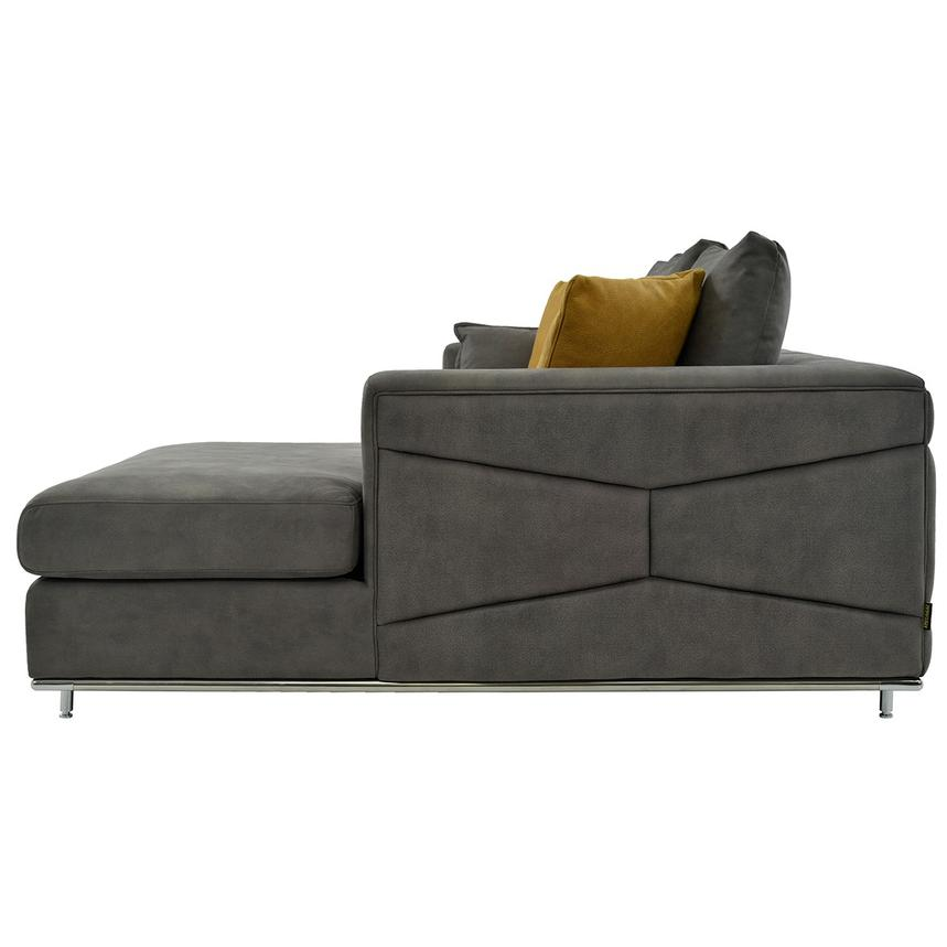 Grigio Sectional Sofa w/Right Chaise  alternate image, 2 of 5 images.