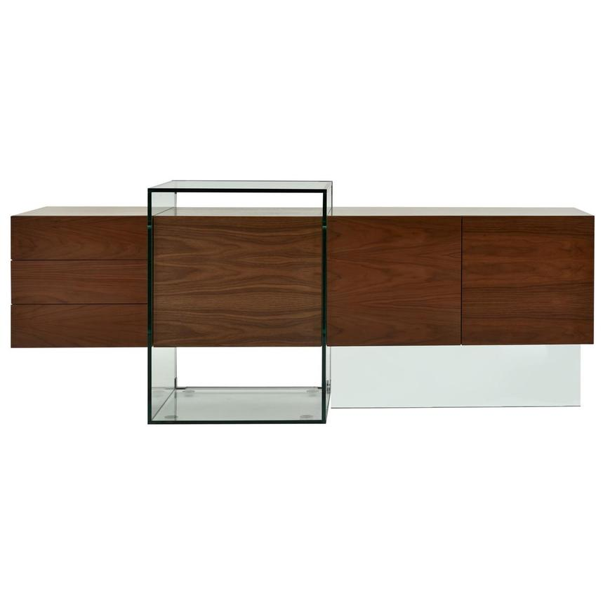 Illusion Walnut Cabinet w/Remote Control  alternate image, 2 of 11 images.