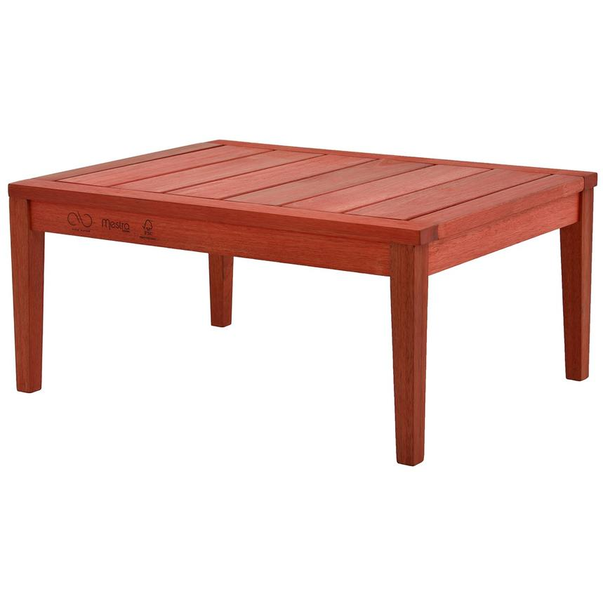 Nassau Red Coffee Table Made in Brazil  alternate image, 3 of 6 images.