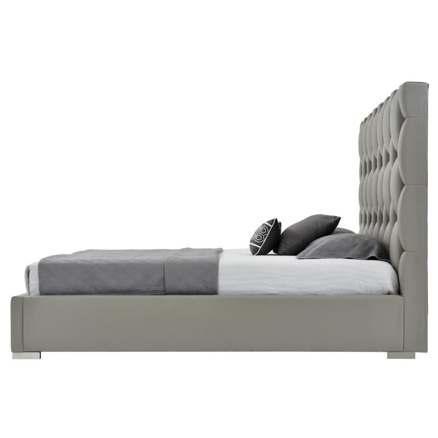 Livia Gray King Platform Bed  alternate image, 4 of 8 images.