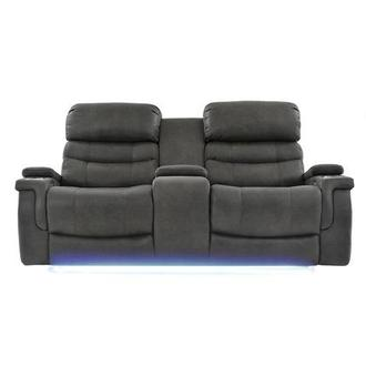 Lum Power Reclining Sofa w/Console