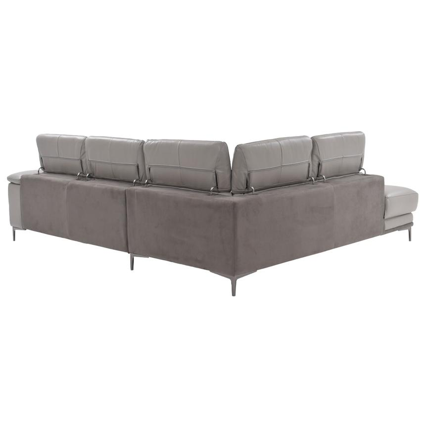 Richardson Power Motion Leather Sofa w/Left Chaise  alternate image, 3 of 8 images.