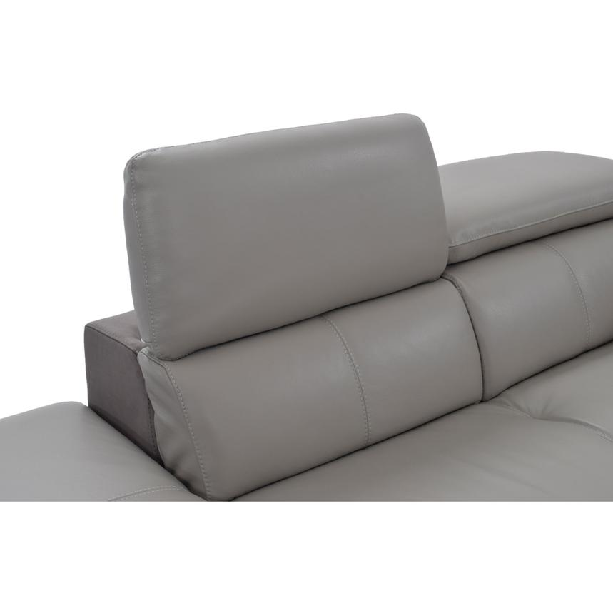 Richardson Leather Power Reclining Sofa w/Left Chaise  alternate image, 7 of 10 images.