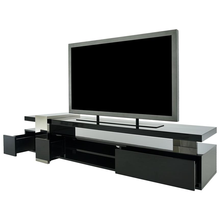 Totem Black TV Stand  alternate image, 3 of 9 images.