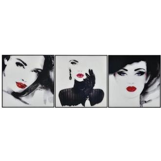 Blanc Set of 3 Acrylic Wall Art