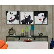 Blanc Set of 3 Acrylic Wall Art  alternate image, 2 of 6 images.
