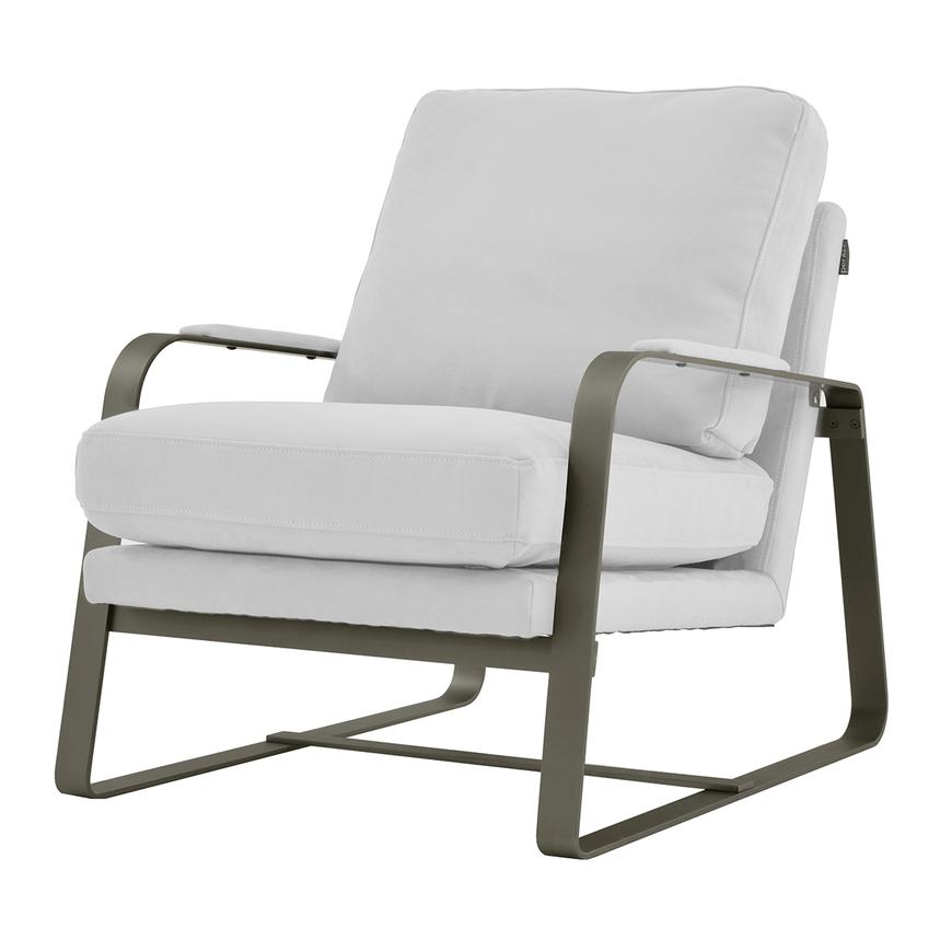 Isa White Accent Chair  alternate image, 2 of 6 images.