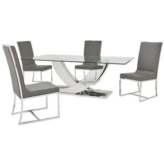 Sofitel Gray 5-Piece Formal Dining Set