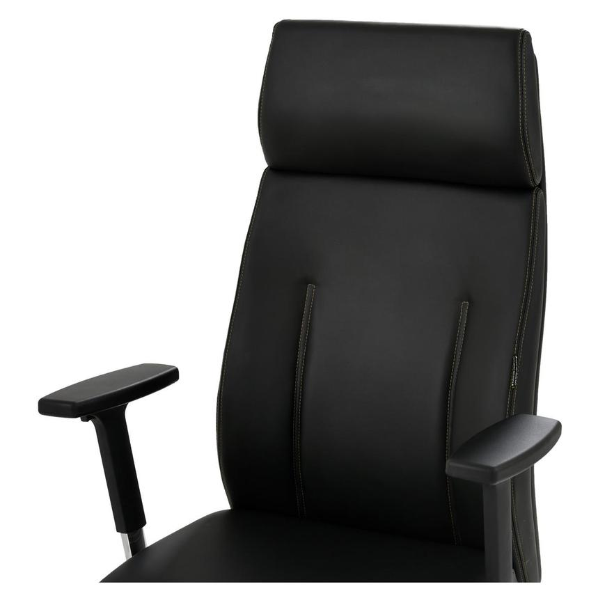 Regulo Black High Back Desk Chair  alternate image, 6 of 8 images.
