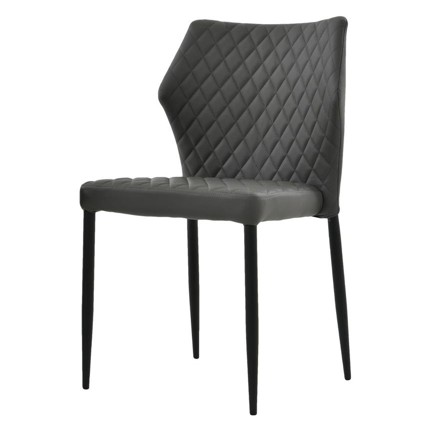 Zari Gray Side Chair  alternate image, 2 of 7 images.