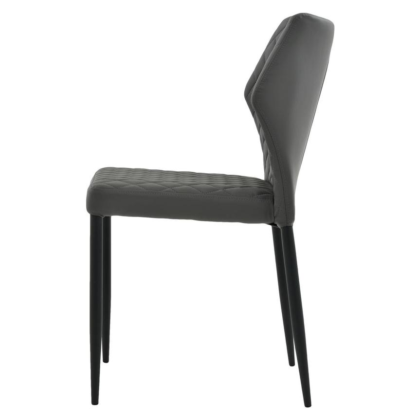 Zari Gray Side Chair  alternate image, 3 of 7 images.