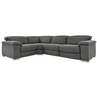 Karly Dark Gray Power Reclining Sectional