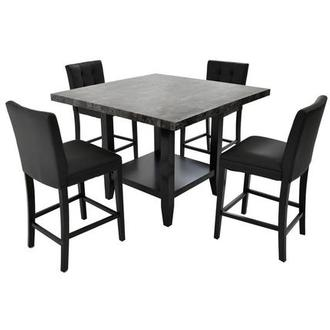 Caspian 5-Piece High Dining Set