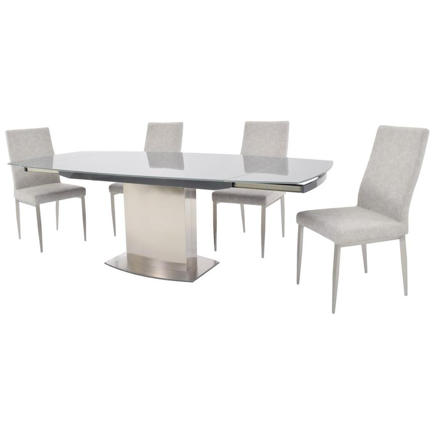 Mavis 5-Piece Formal Dining Set  alternate image, 2 of 15 images.