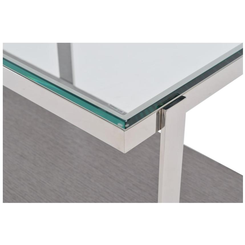Calypso Matte Gray Console Table  alternate image, 7 of 8 images.
