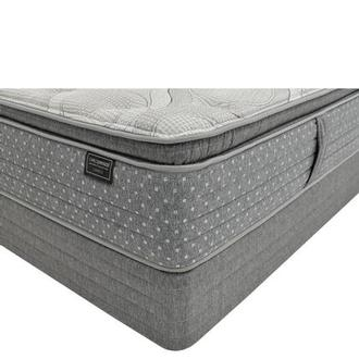 Caprice Full Mattress w/Low Foundation by Carlo Perazzi