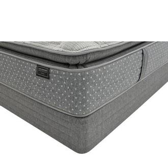 Genoa Queen Mattress w/Low Foundation by Carlo Perazzi