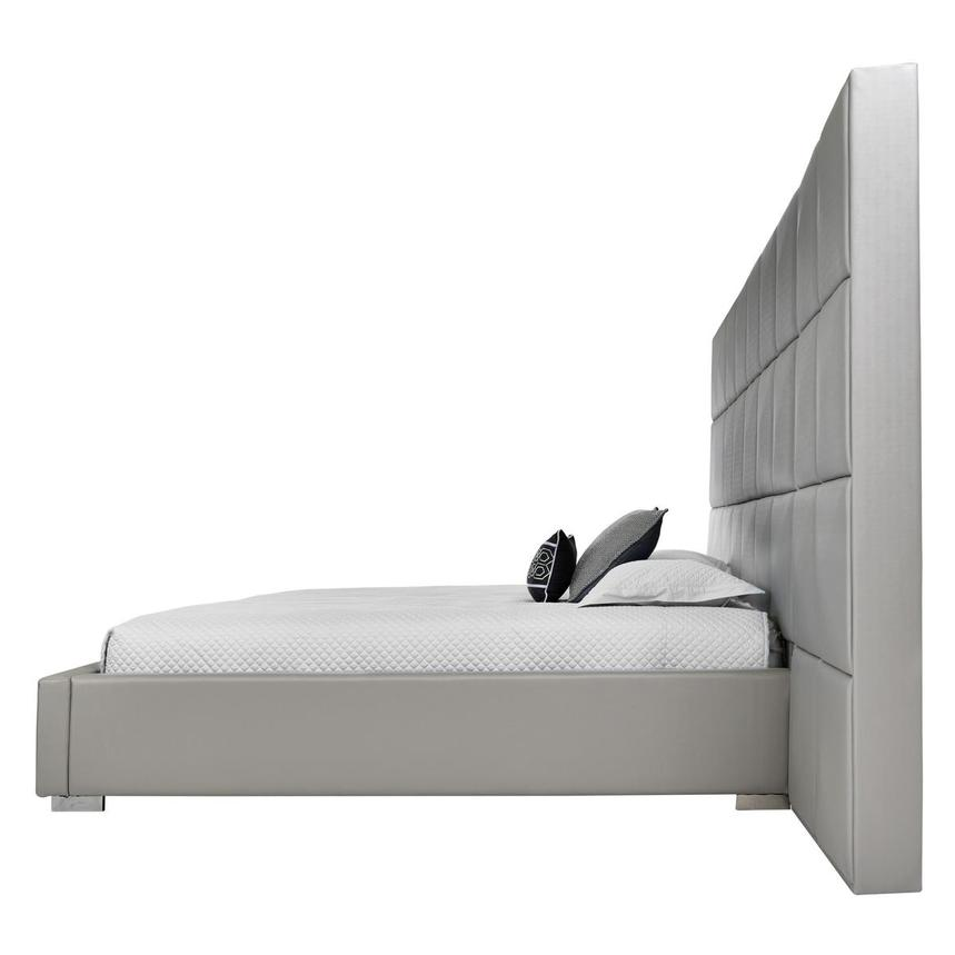 Lux Suite Gray King Platform Bed  alternate image, 3 of 6 images.