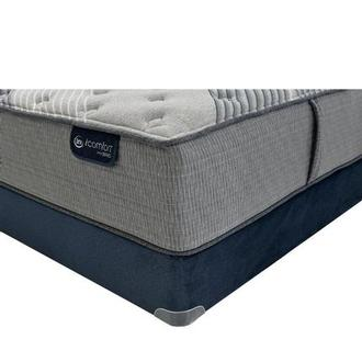 Fusion 1000 Queen Mattress w/Regular Foundation by Serta