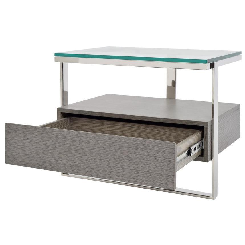 Calypso Matte Gray Side Table El Dorado Furniture