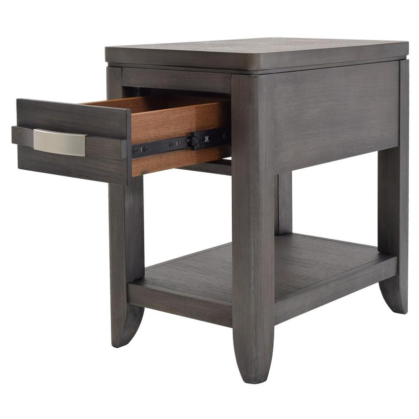 Contour Gray Side Table  alternate image, 3 of 8 images.