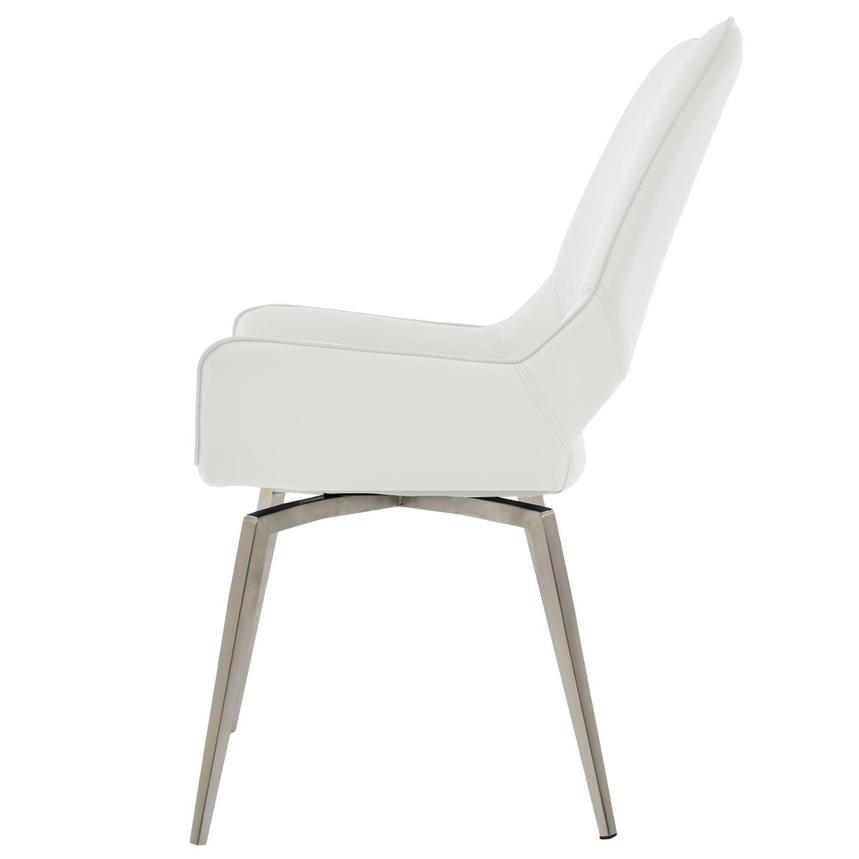 Kalia White Side Chair  alternate image, 3 of 6 images.