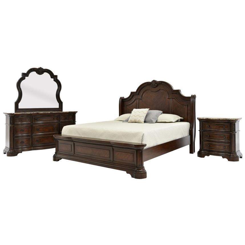 Alexandria 4-Piece Queen Bedroom Set