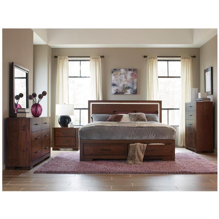 Allison King Storage Bed El Dorado Furniture