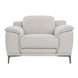 Katherine Gray Leather Power Recliner