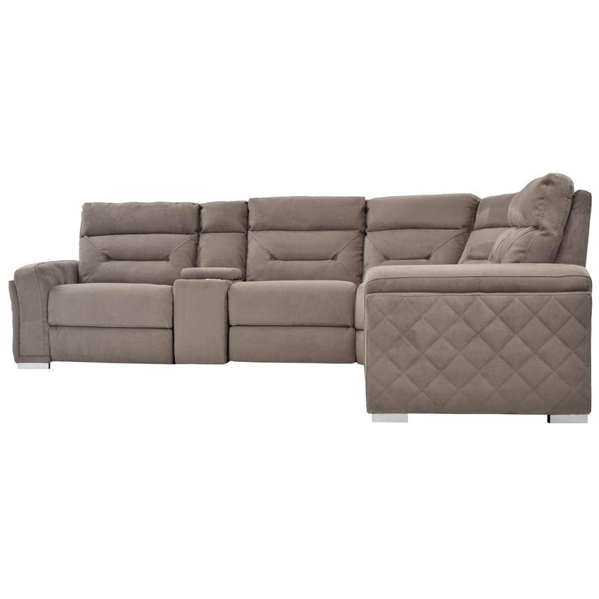 Kim Brown Power Motion Sofa w/Right & Left Recliners  alternate image, 3 of 7 images.
