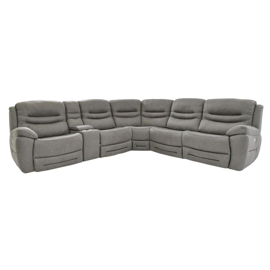 Dan Gray Power Reclining Sectional  main image, 1 of 10 images.