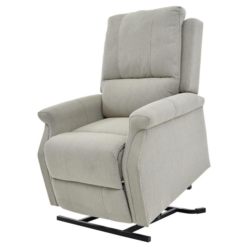 Bailey Cream Power Lift Recliner  main image, 1 of 10 images.