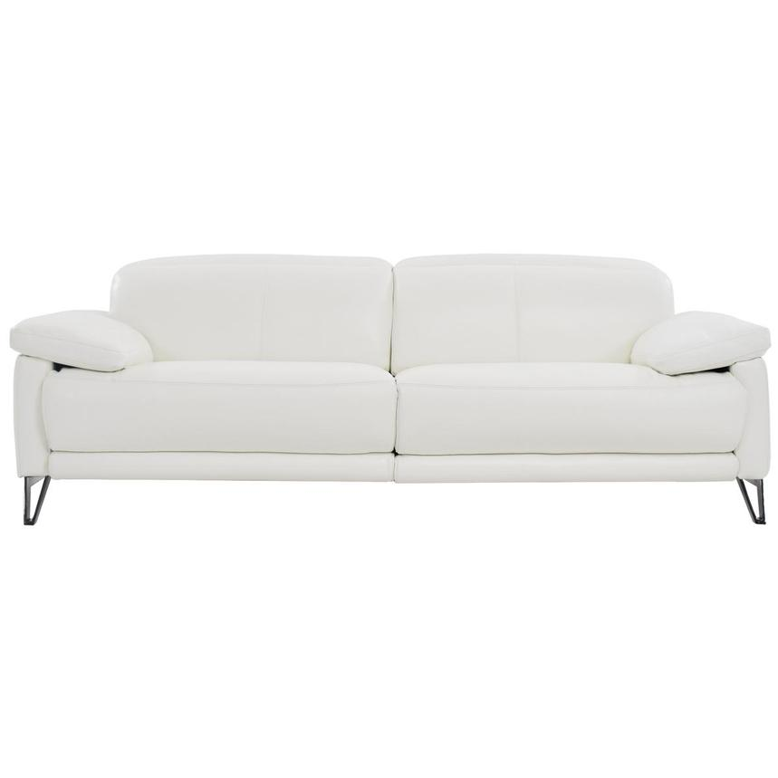 Shelley Leather Power Reclining Sofa  main image, 1 of 9 images.