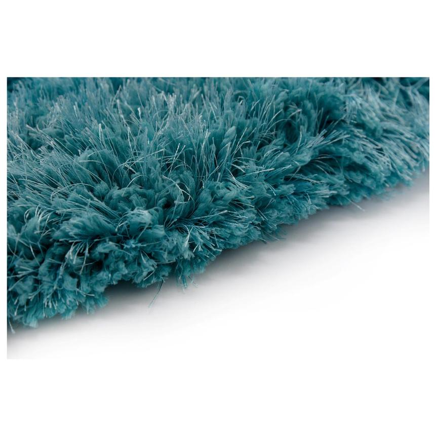 Cosmo Turquoise 8' Round Area Rug  alternate image, 3 of 3 images.