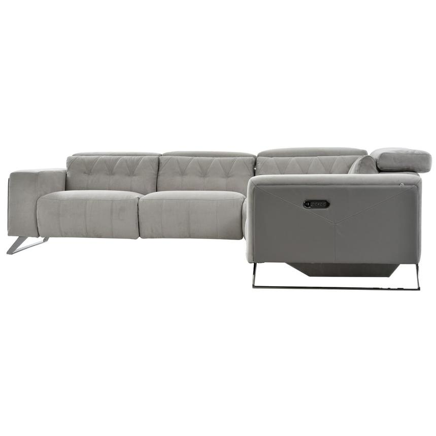 Elise Power Reclining Sectional  alternate image, 8 of 11 images.
