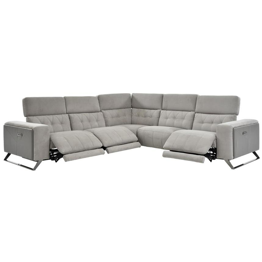 Elise Power Reclining Sectional  alternate image, 2 of 6 images.