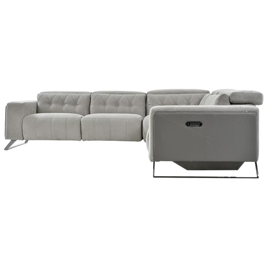 Elise Power Motion Sofa w/Right & Left Recliners  alternate image, 3 of 6 images.